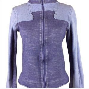 Lululemon Purple Zip Up Sweatshirt